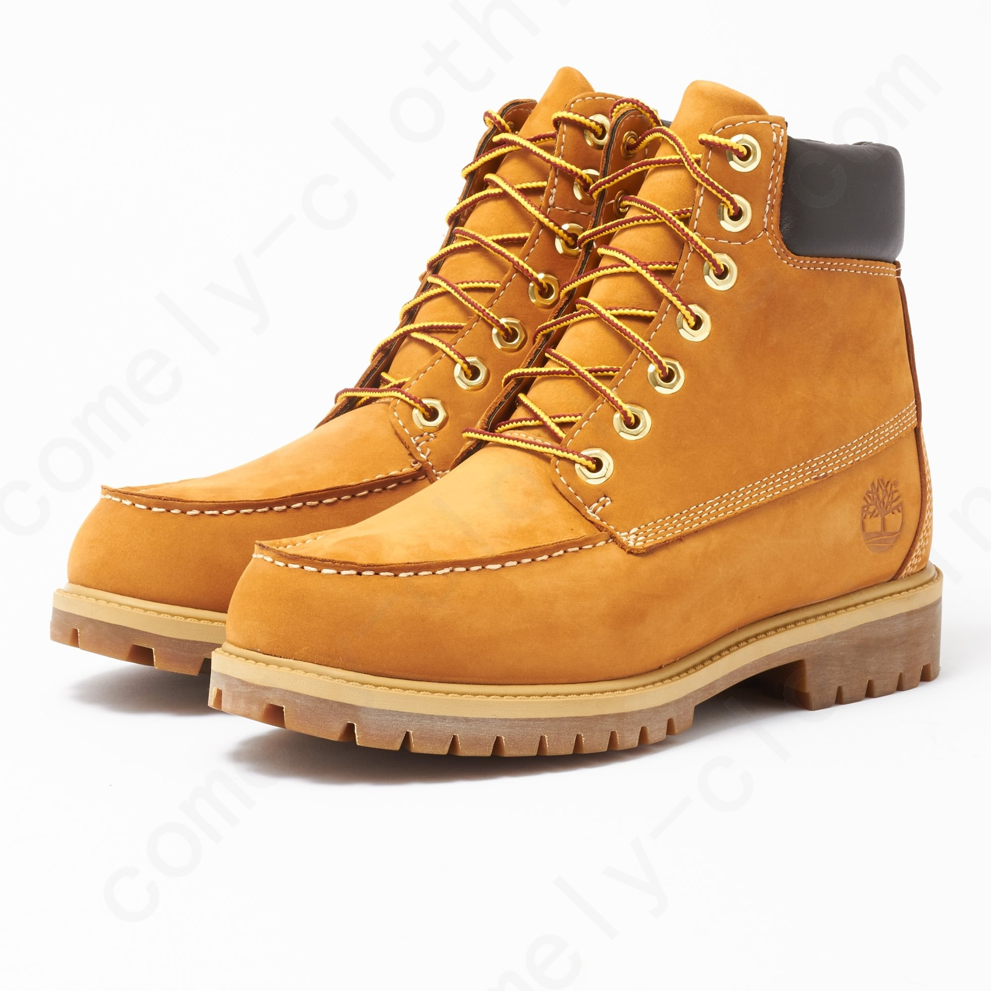 Timberland Wheat Icon -Inch Moc Boot Mens - Timberland Wheat Icon -Inch Moc Boot Mens