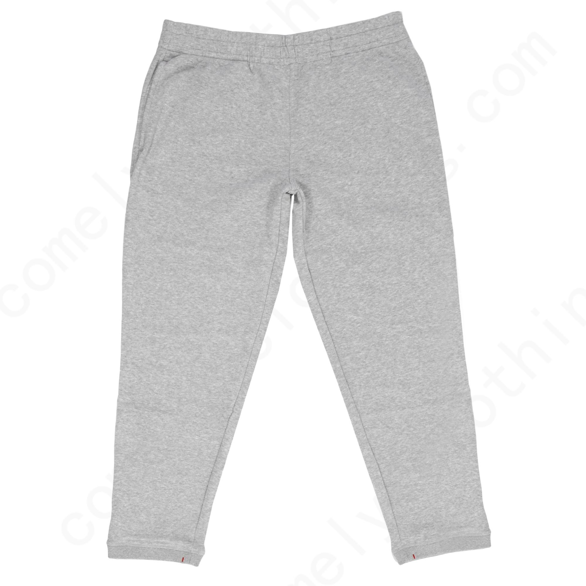 Wolsey Brushed Soft Handle Grey Sweatpants Wm20M16 Mens - Wolsey Brushed Soft Handle Grey Sweatpants Wm20M16 Mens