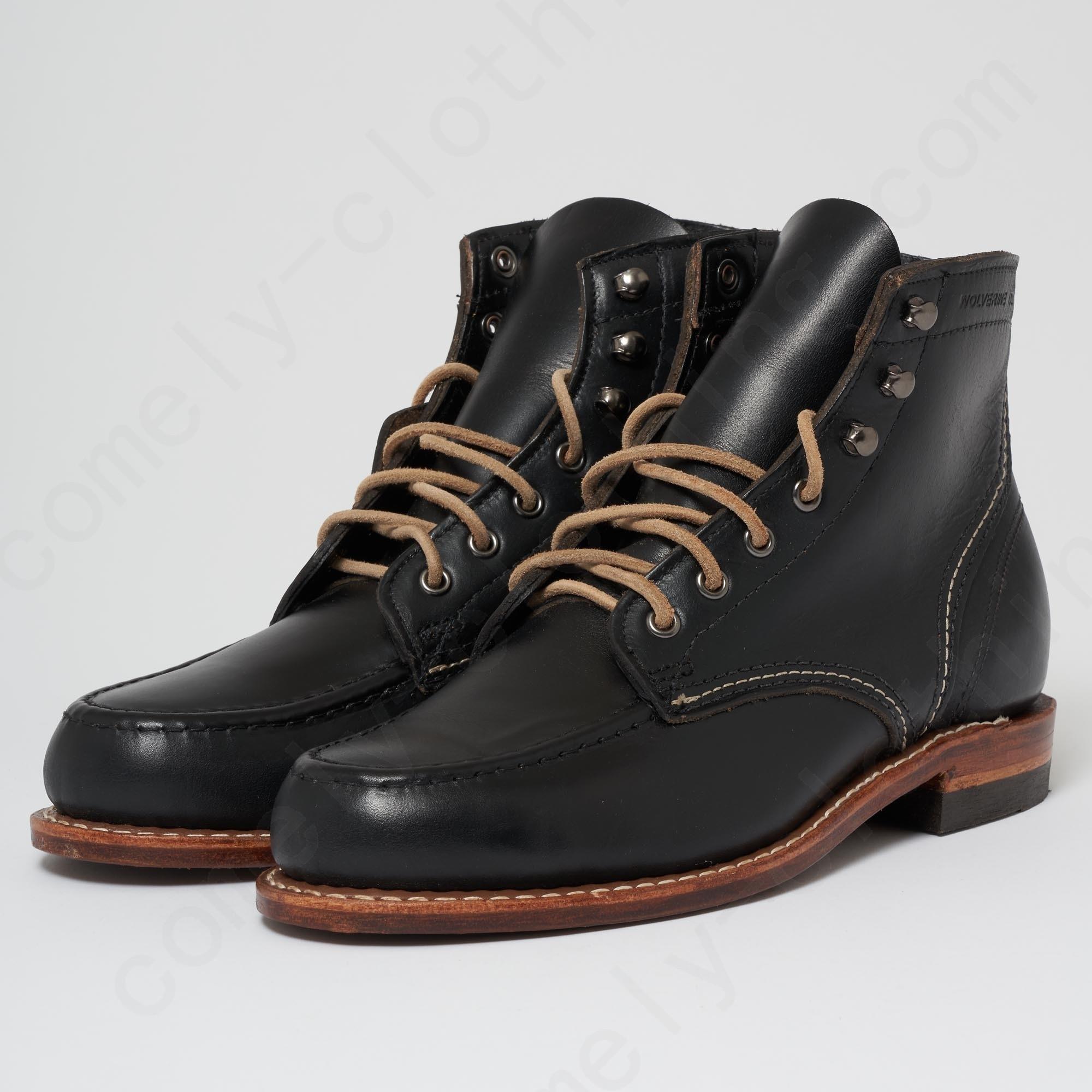 Wolverine 1000 Mile Black Mile Boot Men - Wolverine 1000 Mile Black Mile Boot Men